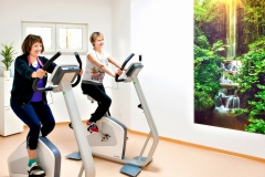 Physiotherapie Praxis Lebedew Training Fahrrad Aufwärmen Kondition