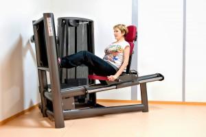 Gerätetraining Beintraining in der Physiotherapie Praxis Lebedew in Lohfelden